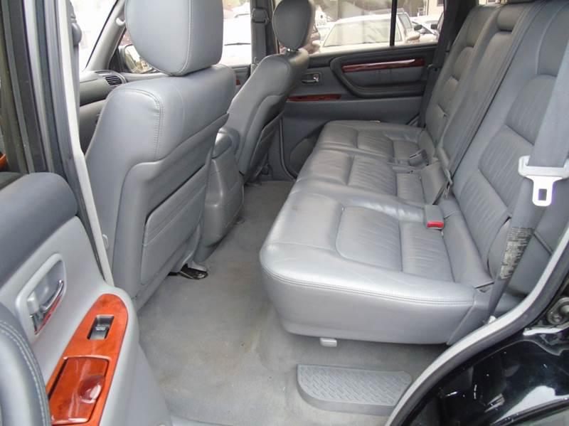 2002 Lexus LX 470 4WD 4dr SUV - Kensington CT
