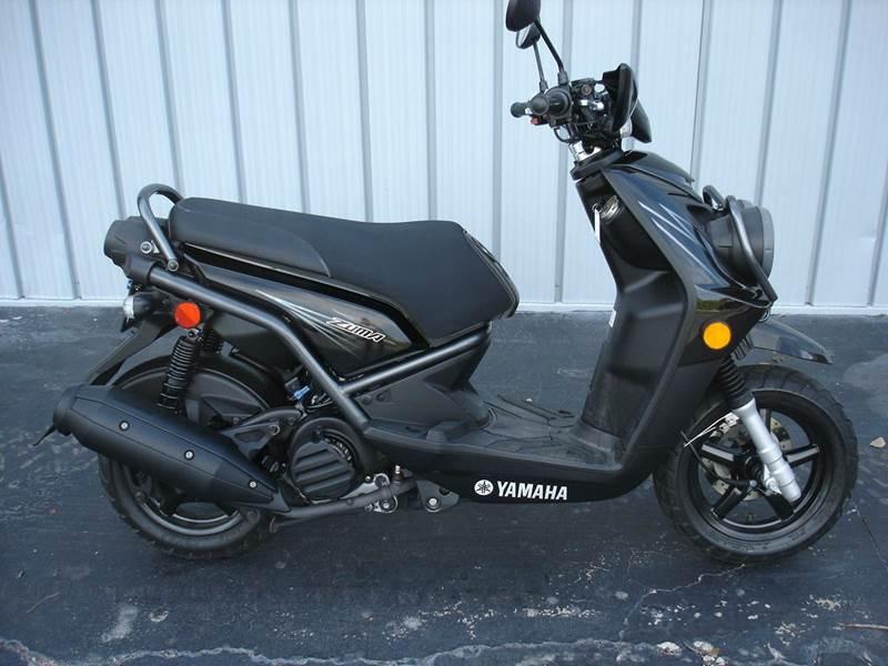 2012 Yamaha Zuma 125 for sale at PRIDE AUTO SALES LLC in Nokomis FL