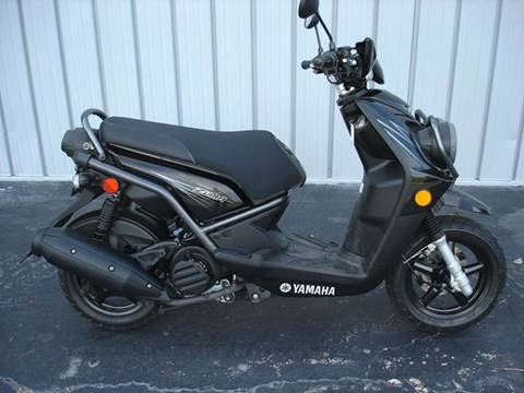 2012 Yamaha Zuma 125 for sale at PRIDE AUTO SALES LLC in Nokomis FL