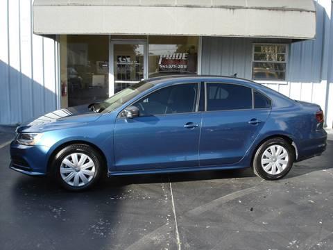 2016 Volkswagen Jetta 1.4T S for sale at PRIDE AUTO SALES LLC in Nokomis FL