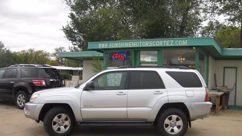 2004 Toyota 4Runner for sale in Cortez, CO