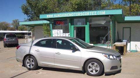 2014 Chevrolet Malibu for sale in Cortez, CO