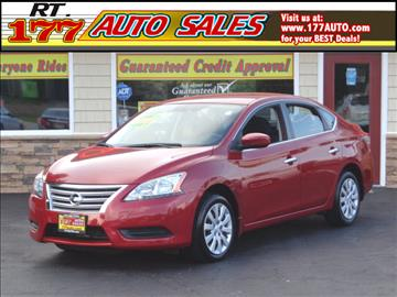 2014 Nissan Sentra for sale at 177 Auto Sales in Pasadena MD