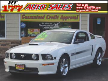 2008 Ford Mustang for sale at 177 Auto Sales in Pasadena MD
