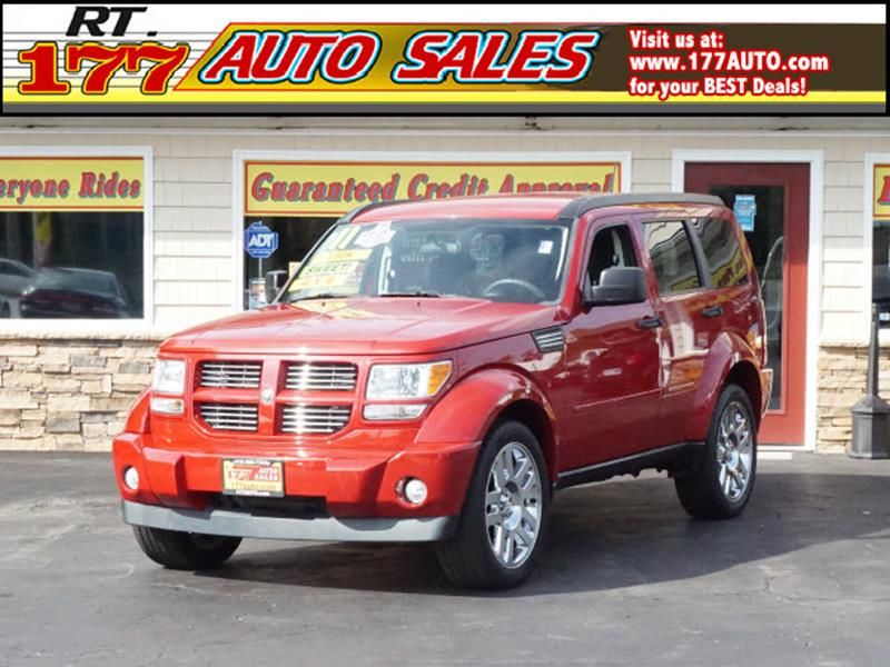 2011 Dodge Nitro for sale at 177 Auto Sales in Pasadena MD