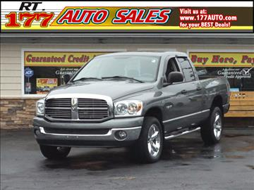 2008 Dodge Ram Pickup 1500 for sale at 177 Auto Sales in Pasadena MD