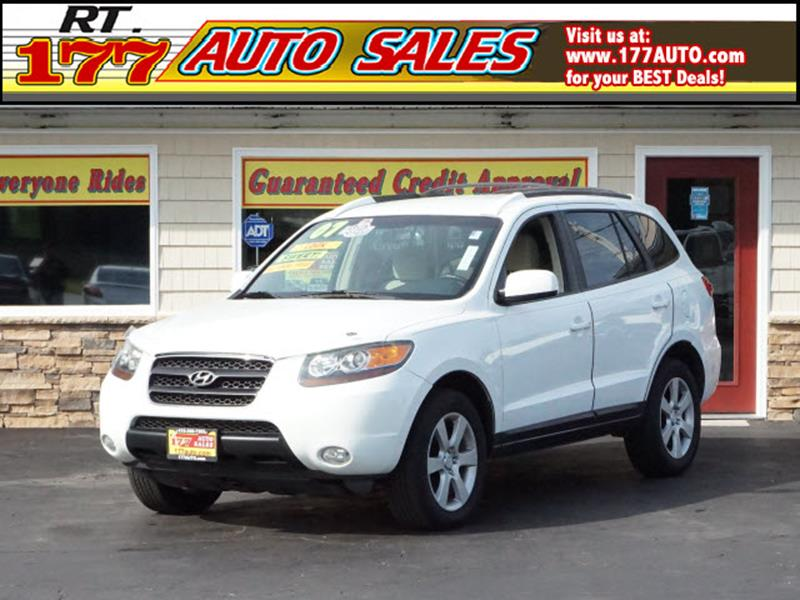 2007 Hyundai Santa Fe for sale at 177 Auto Sales in Pasadena MD