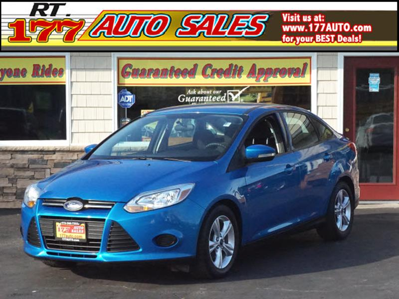 2014 Ford Focus for sale at 177 Auto Sales in Pasadena MD