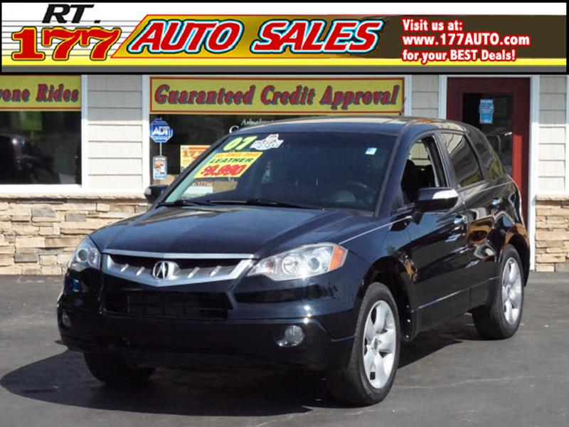 2007 Acura RDX for sale at 177 Auto Sales in Pasadena MD