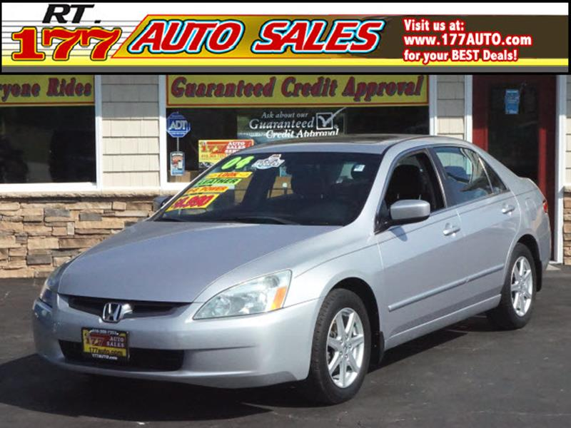2004 Honda Accord for sale at 177 Auto Sales in Pasadena MD
