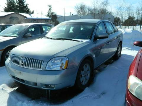 2006 Mercury Montego for sale in Quinnesec, MI