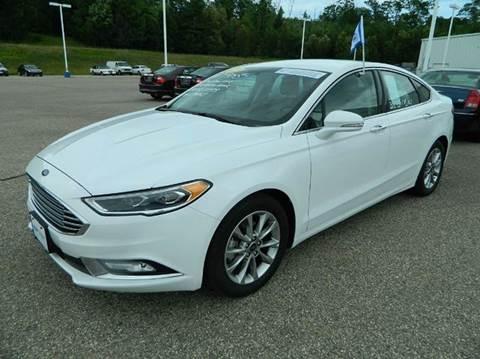2017 Ford Fusion for sale in Quinnesec MI