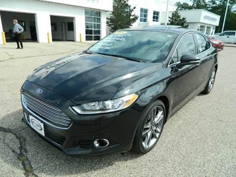 2014 Ford Fusion for sale in Quinnesec MI