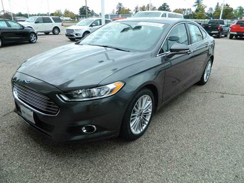 2016 Ford Fusion for sale in Quinnesec MI