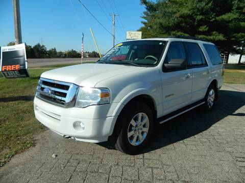 2008 Ford Expedition for sale in Quinnesec MI