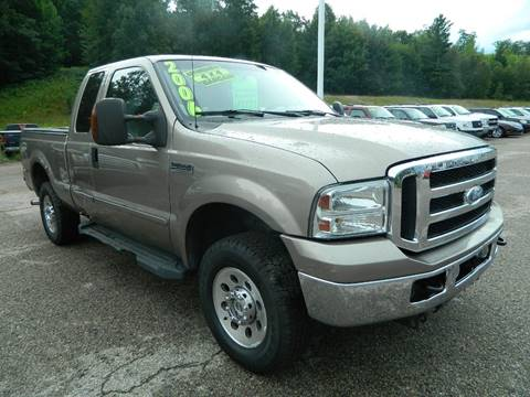 2006 Ford F-250 Super Duty for sale in Quinnesec, MI