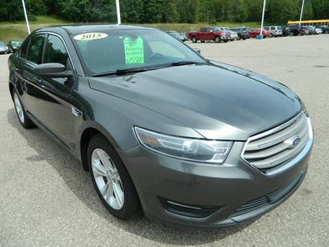 2015 Ford Taurus for sale in Quinnesec, MI