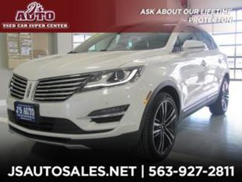 2017 Lincoln MKC for sale in Manchester, IA