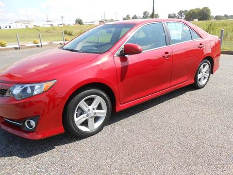 2014 Toyota Camry for sale at C & H AUTO SALES WITH RICARDO ZAMORA in Daleville AL