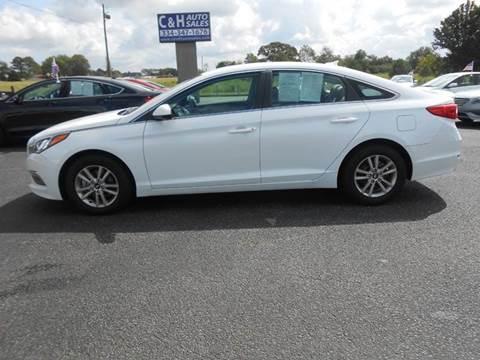 2015 Hyundai Sonata for sale at C & H AUTO SALES WITH RICARDO ZAMORA in Daleville AL