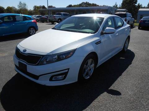 2014 Kia Optima for sale at C & H AUTO SALES WITH RICARDO ZAMORA in Daleville AL