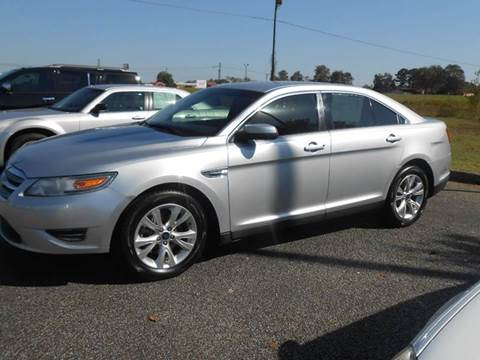 2010 Ford Taurus for sale at C & H AUTO SALES WITH RICARDO ZAMORA in Daleville AL