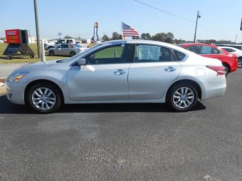 2015 Nissan Altima for sale at C & H AUTO SALES WITH RICARDO ZAMORA in Daleville AL