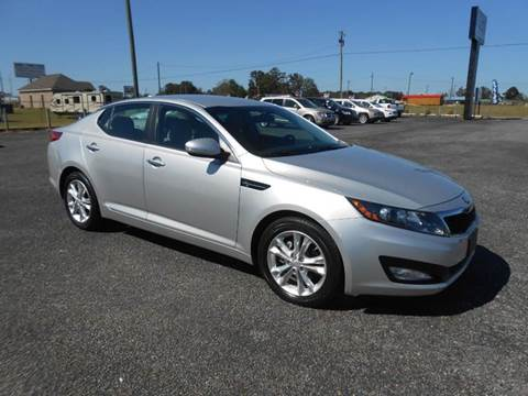 2013 Kia Optima for sale at C & H AUTO SALES WITH RICARDO ZAMORA in Daleville AL