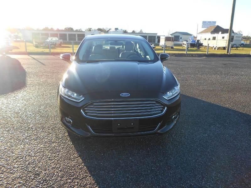 2015 Ford Fusion for sale at C & H AUTO SALES WITH RICARDO ZAMORA in Daleville AL