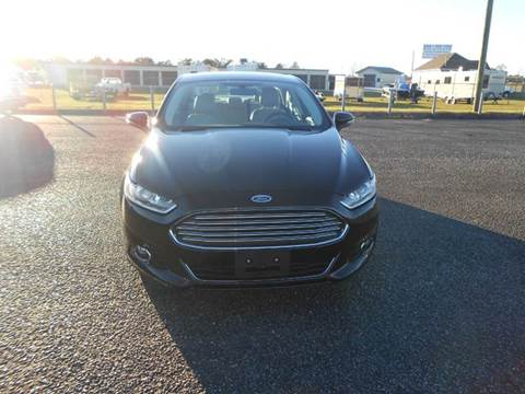 2015 Ford Fusion for sale at C & H AUTO SALES WITH RICARDO ZAMORA in Daleville AL