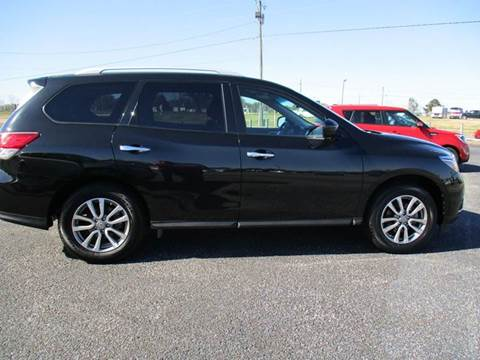 2015 Nissan Pathfinder for sale at C & H AUTO SALES WITH RICARDO ZAMORA in Daleville AL