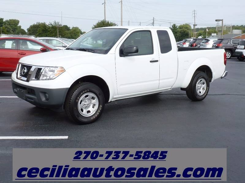 2016 Nissan Frontier 4x2 S 4dr King Cab 6.1 ft. SB Pickup 5A - Elizabethtown KY