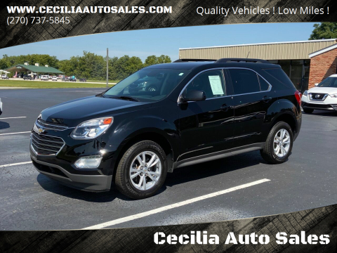 2016 Chevrolet Equinox for sale at Cecilia Auto Sales in Elizabethtown KY