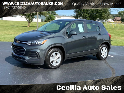 2020 Chevrolet Trax for sale at Cecilia Auto Sales in Elizabethtown KY