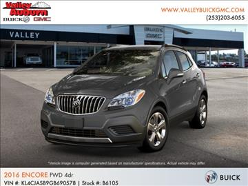 2016 Buick Encore for sale in Auburn, WA