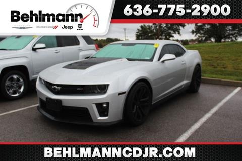 2013 Chevrolet Camaro for sale in Troy, MO