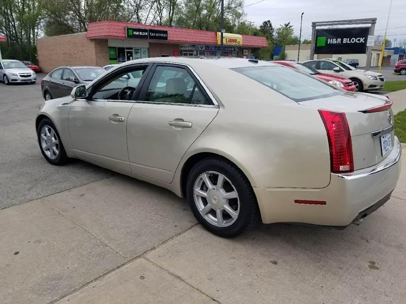 2008 Cadillac CTS AWD 3.6L V6 4dr Sedan - Grand Rapids MI