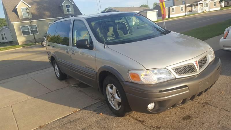2004 Pontiac Montana Fwd 4dr Extended Mini-Van - Grand Rapids MI