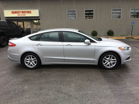 2014 Ford Fusion for sale in Riverside, MO