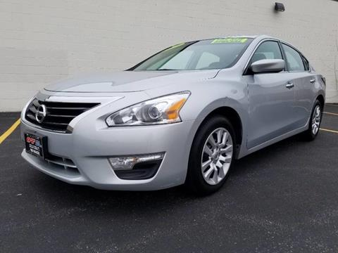 2015 Nissan Altima for sale at O T AUTO SALES in Chicago Heights IL