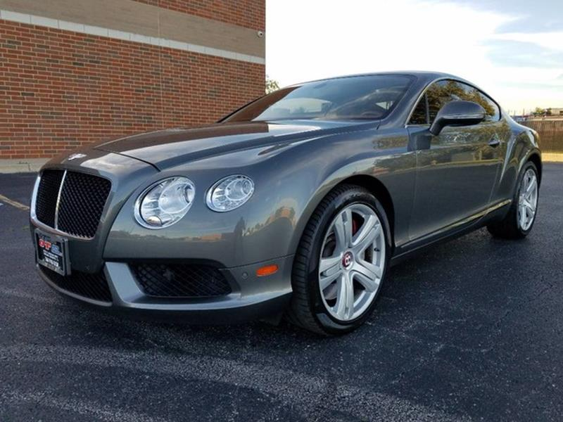 2013 Bentley Continental Gt V8 In Chicago Heights Il O T Auto Sales