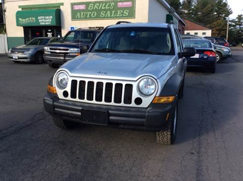 2006 Jeep Liberty for sale at Brill's Auto Sales in Westfield MA