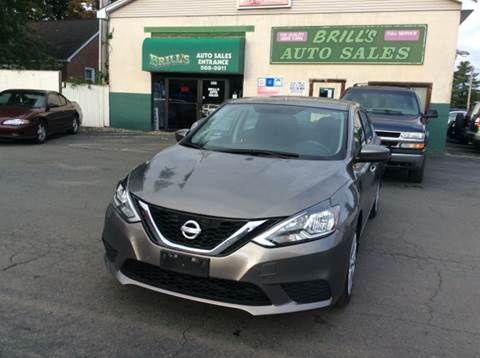 2016 Nissan Sentra for sale at Brill's Auto Sales in Westfield MA