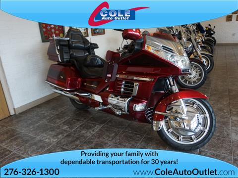 2000 Honda Goldwing for sale in Bluefield, VA
