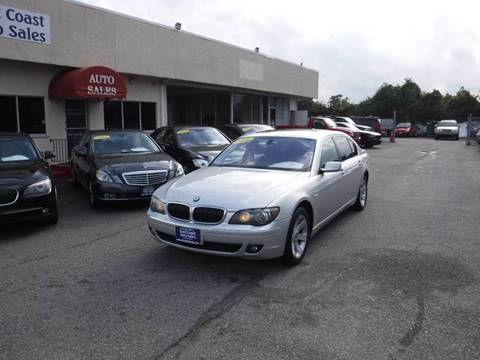 2008 BMW 7 Series for sale in Virginia Beach, VA