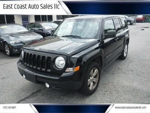 2014 Jeep Patriot for sale at East Coast Auto Sales llc in Virginia Beach VA