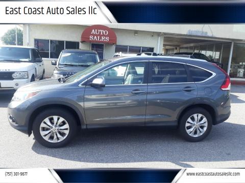 2013 Honda CR-V for sale at East Coast Auto Sales llc in Virginia Beach VA