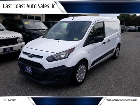 2015 Ford Transit Connect Cargo for sale at East Coast Auto Sales llc in Virginia Beach VA