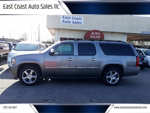 2009 Chevrolet Suburban for sale at East Coast Auto Sales llc in Virginia Beach VA