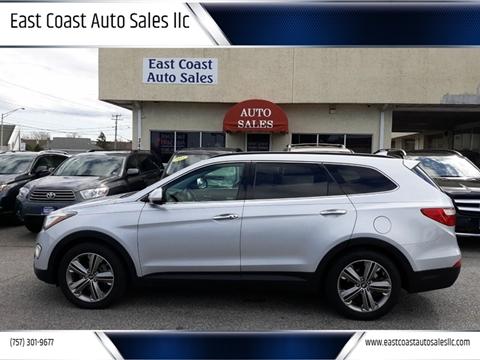 2013 Hyundai Santa Fe for sale at East Coast Auto Sales llc in Virginia Beach VA
